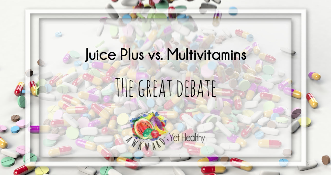 Juice Plus Vs Multivitamins