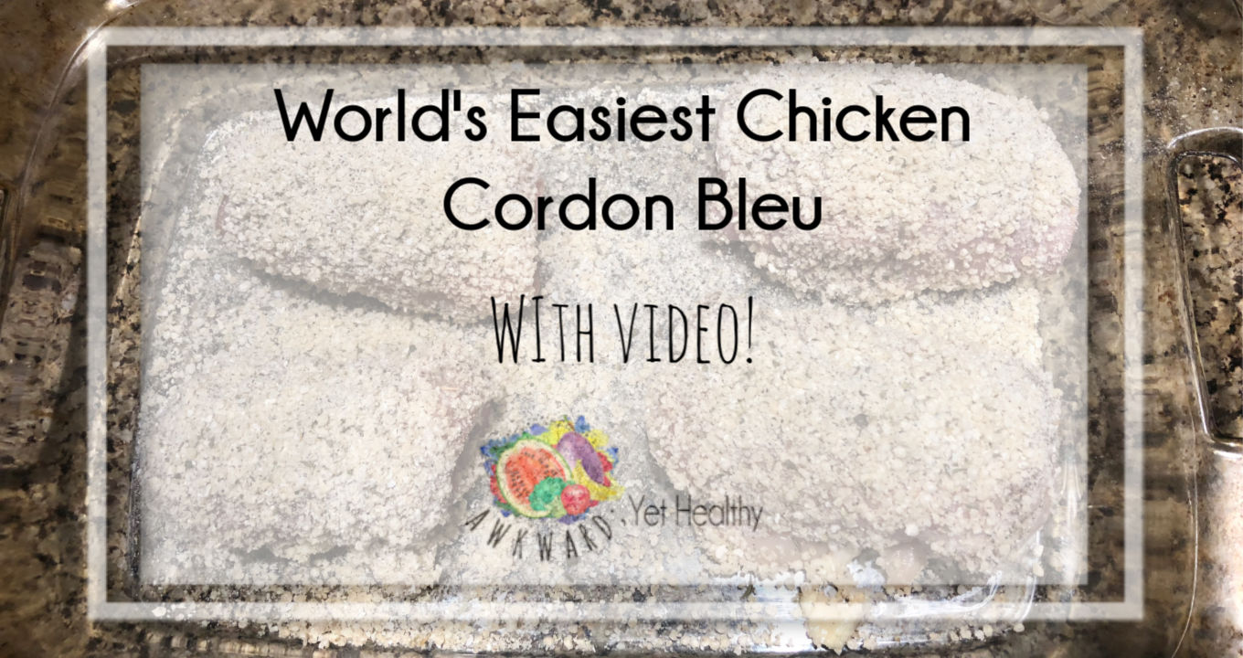 World's Easiest Chicken Cordon Bleu