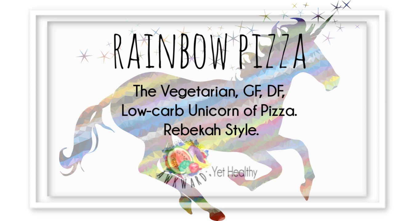 Rainbow Pizza- Rebekah Style