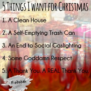 moms christmas list