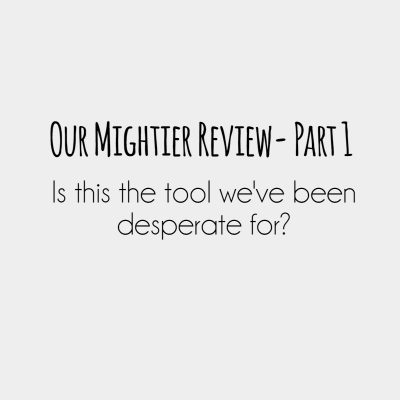 Mightier Review-Part 1. Is this the tool we've been desperate for?